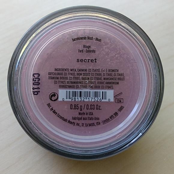 Secret Blush (Bare Minerals)